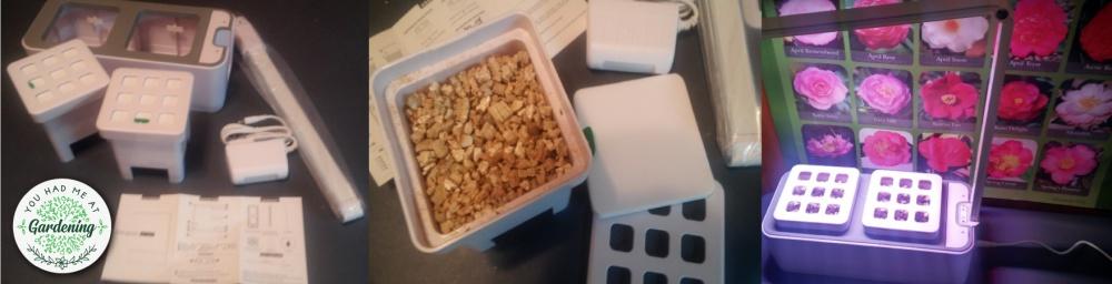 AIBSI Hydroponics Indoor Herb Garden box