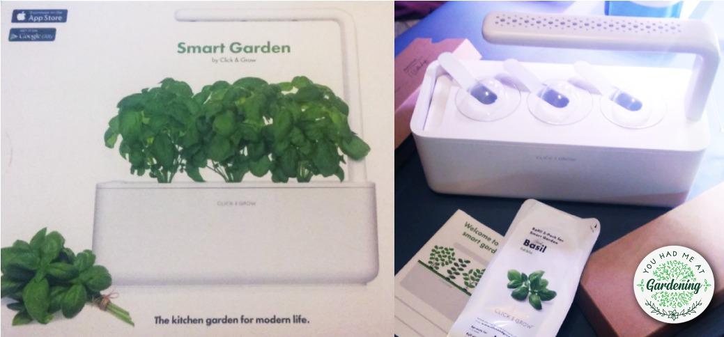Click and Grow indoor herb garden kit - box