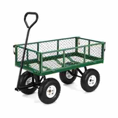 garden cart with wheels