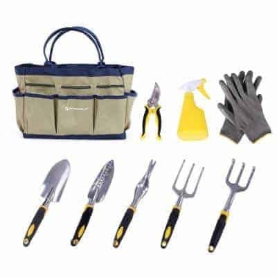 9 pieces gardening kit