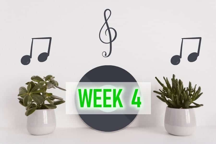 week 4 update - music for plants