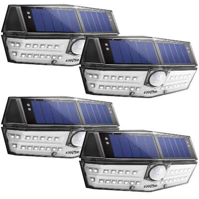 best wide angle solar lights