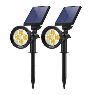 led adjustable solar lights
