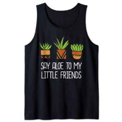say aloe to my little friends t shirt