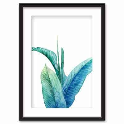 leaves painting