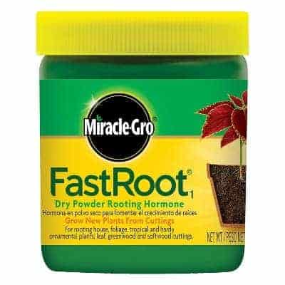 fast root rooting hormone from miracle gro