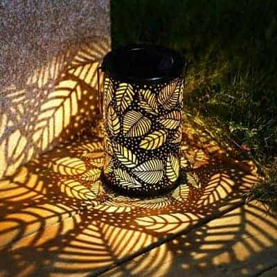 solar light powered lantern