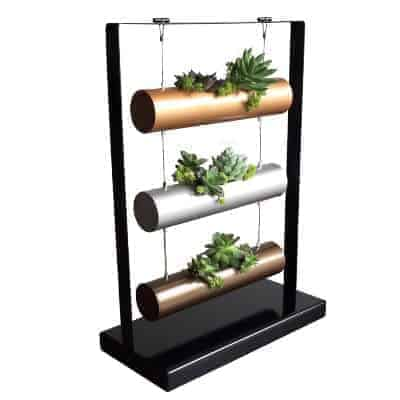 vertical planter for succulents and small plants