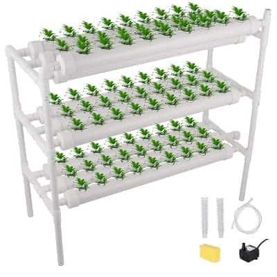 Hydroponic kit for balcony