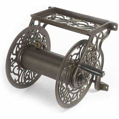 decorative wall mounted hose reel from Liberty Garden