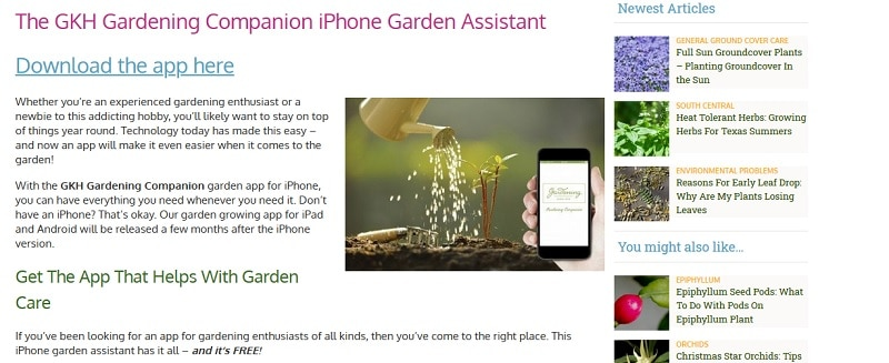 best gardening apps gardening companion